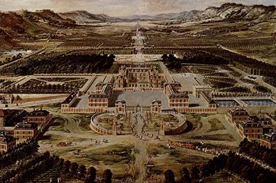 凡尔赛宫图,现藏于凡尔赛美术馆。(维基百科公共领域)