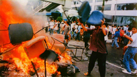印尼残害华人妇女 江泽民表态暴动是他国内政