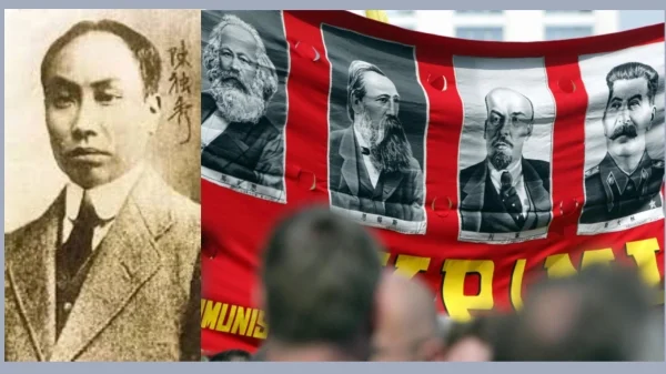 陈独秀抛弃马列共产党(图片来源:合成图/右图为Getty Images )